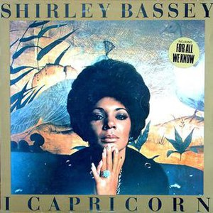 I Capricorn - Image: I Capricorn Shirley Bassey