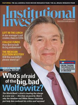Institutional Investor (magazine) - Image: Institutional Investor September 2005