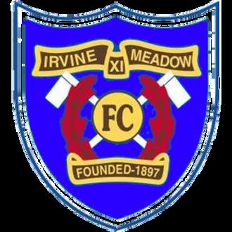 Irvine Meadow XI F.C. - Irvine Meadow's crest