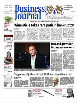 Jacksonville Business Journal - An issue of the Jacksonville Business Journal