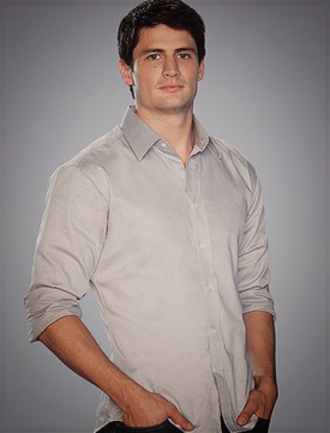 Nathan Scott - James Lafferty as Nathan Scott
