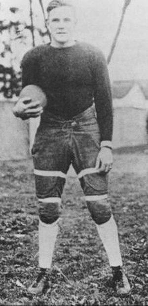 Shipwreck Kelly (American football) - Kelly at Kentucky.