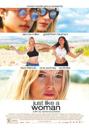 Just like a Woman (2012 film) - Film Poster