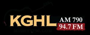 KGHL (AM) - Image: KGHL AM790 94.7FM logo
