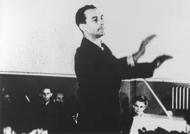 Karel Ančerl conducts the Theresienstadt orchestra