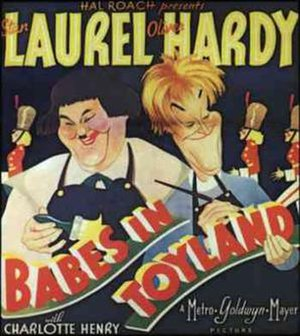 Babes in Toyland (1934 film) - theatrical release poster (1934)