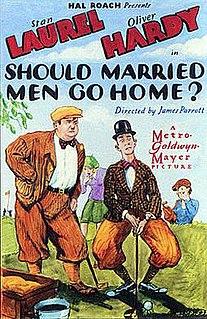 <i>Should Married Men Go Home?</i> 1928 film by Leo McCarey, James Parrott