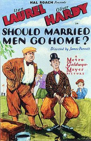 Should Married Men Go Home? - Theatrical poster