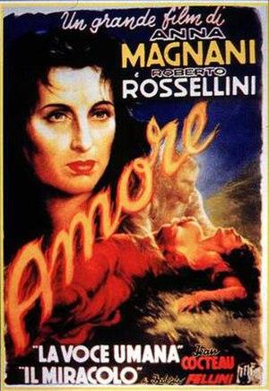 L'Amore (film) - Film poster