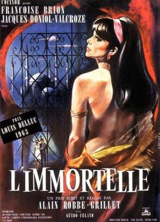 L'Immortelle - French film poster for L'Immortelle