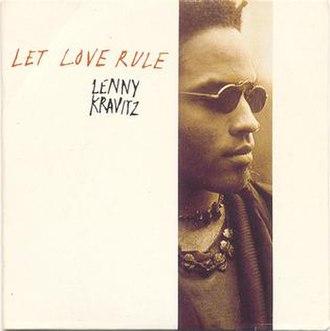 Let Love Rule (song) - Image: LK Let Love Rule