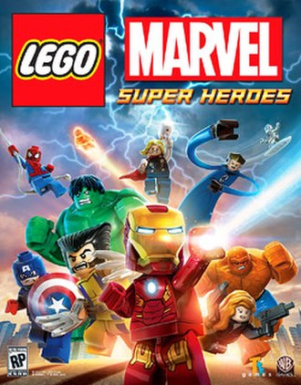 Lego Marvel Super Heroes - Image: Lego Marvel cover