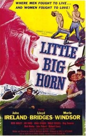 Little Big Horn (film) - Theatrical release poster