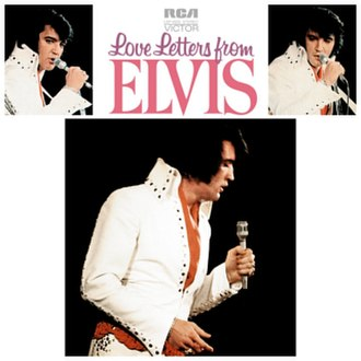 Love Letters from Elvis - Image: Love Letters from Elvis Cover
