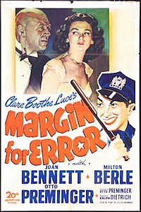 Margin for Error 1943 poster.jpg