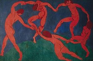 Henri Matisse, La Danse (second version), 1909 Hermitage Museum, St. Petersburg, Russia