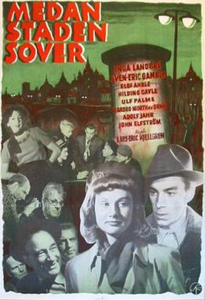 While the City Sleeps (1950 film) - Film poster