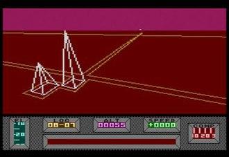 Mercenary (video game) - Image: Mercenary the second city on atari 800 FAIR USE