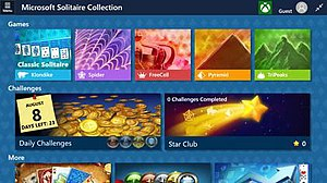 Microsoft Solitaire Collection - Image: Microsoft Solitaire Collection screenshot