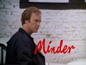 Minder (TV series) - Original title sequence, featuring Dennis Waterman (1979–1989).
