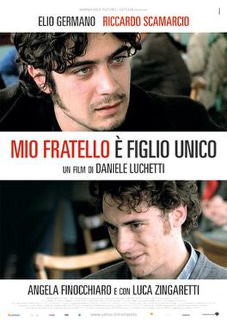 My Brother Is an Only Child - Italian film poster