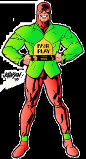 Mister Terrific (Terry Sloane) cartoon character