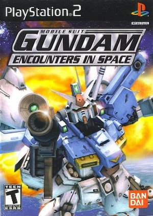 Mobile Suit Gundam: Encounters in Space - Image: Mobile Suit Gundam Encounters in Space Cover