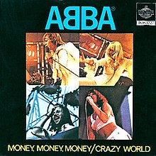 ABBA — Money, Money, Money (studio acapella)