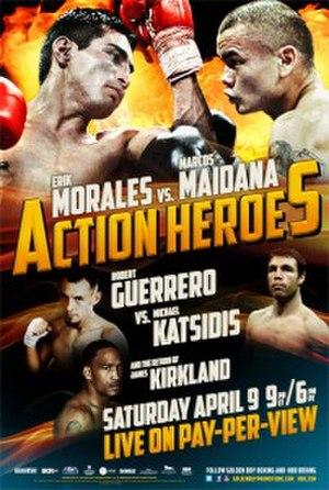 Érik Morales vs. Marcos Maidana - Image: Morales Maidana