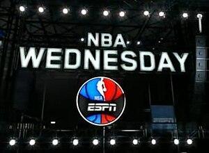 NBA Wednesday - NBA Wednesday Logo from 2011-16