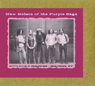 <i>S.U.N.Y., Stonybrook, NY, 3/17/73</i> 2007 live album by New Riders of the Purple Sage
