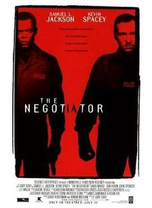 The Negotiator - Theatrical release poster