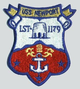 USS Newport (LST-1179) - Image: Newport Patch