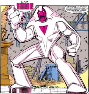 Nimrod (comics) - Image: Nimrodxmen