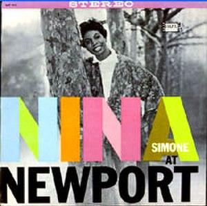 Nina Simone at Newport - Image: Ninasimoneatnewport