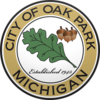 Official seal of Oak Park, Michigan
