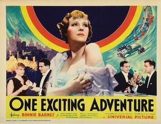 <i>One Exciting Adventure</i> 1934 film