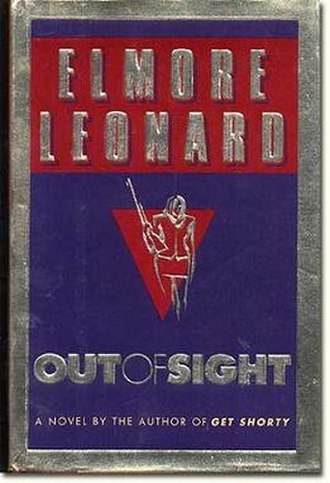 Out of Sight (novel) - First edition (publ. Delacorte Press)