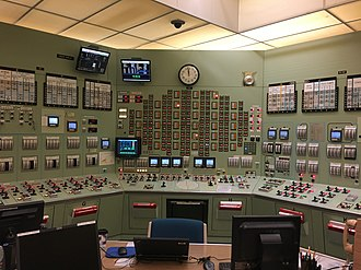 Oyster Creek Nuclear Generating Station - Image: Oyster Creek NGS Simulator 1