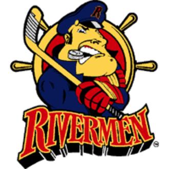 Peoria Rivermen (IHL) - Image: Peoria rivermen ihl 200x 200
