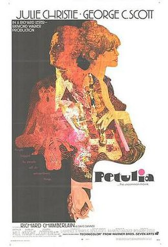 Petulia - Theatrical release poster