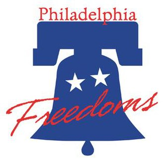 Philadelphia Freedoms - Logo used by the Freedoms in 1974 and from 2001 to 2007.