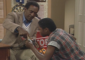 Pilot (The Cosby Show) - Image: Pilot (The Cosby Show) monopoly lesson