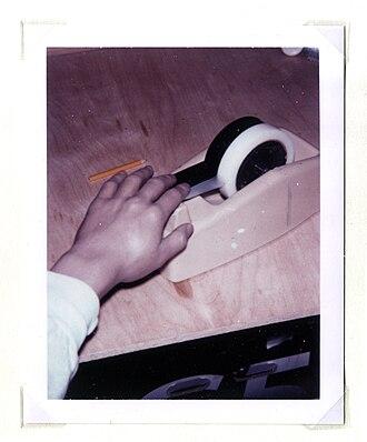 Carter (artist) - Image: Polaroid 8.carter