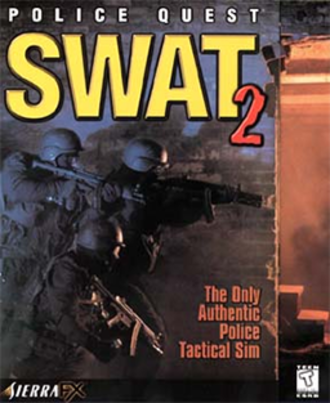 Police Quest: SWAT 2 - Image: Police Quest SWAT 2 Coverart