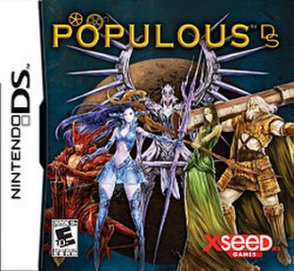 Populous DS - North American cover art