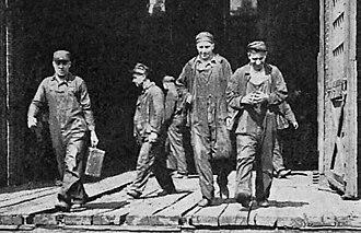 Great Railroad Strike of 1922 - Workers leave their  railroad duties to strike