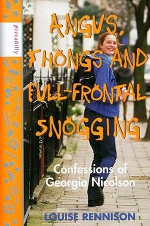 Angus, Thongs and Full-Frontal Snogging - First edition cover