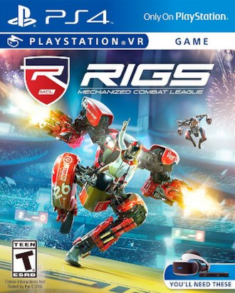 RIGS: Mechanized Combat League - North American box art