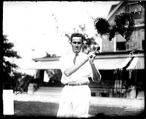 Robert Hunter (golfer) - Hunter in 1908